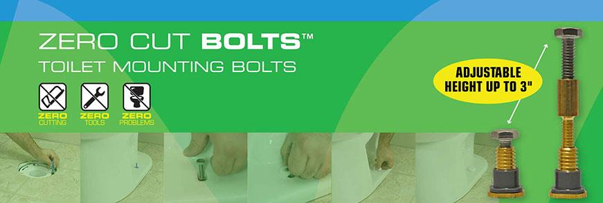 Danco™ Announces Zero Cut Toilet Bolts