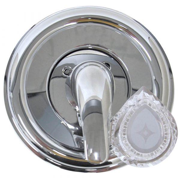 Tub/Shower Trim Kit for Moen in Chrome