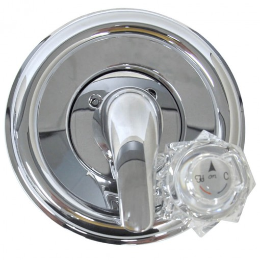 universal tub shower trim kit for delta in chrome replacing the trim