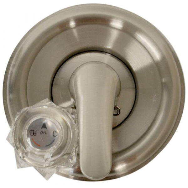 Tub/Shower Trim Kit for Delta in Brushed Nickel