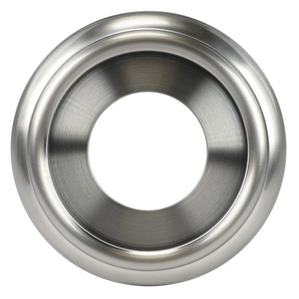 Decorative Tub Spout Ring in Brushed Nickel