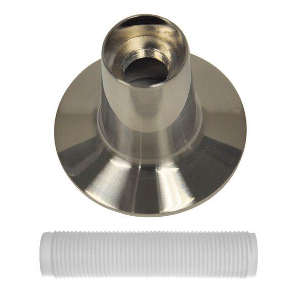 Tub/Shower Flange Set for Price Pfister in Brushed Nickel