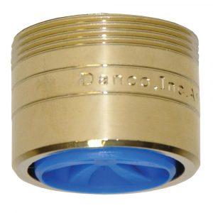 1.5 GPM  Dual Thread Water-Saving Aerator in Polished Brass
