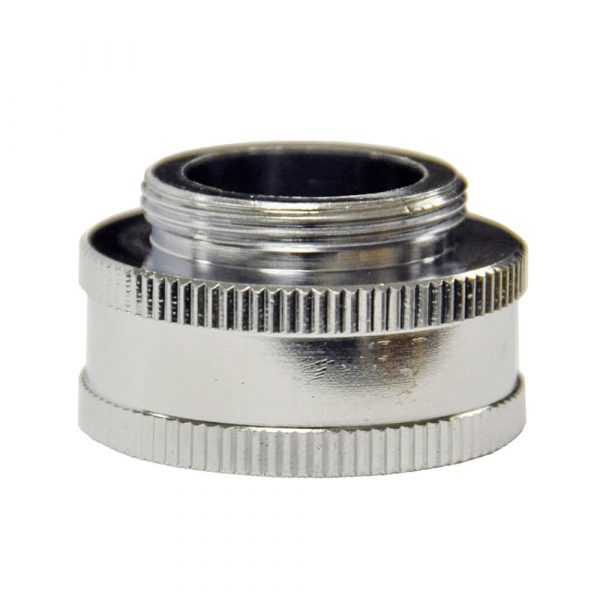 3/4 in. GHTF x 55/64 in.-27M Chrome Portable Washing Machine Adapter