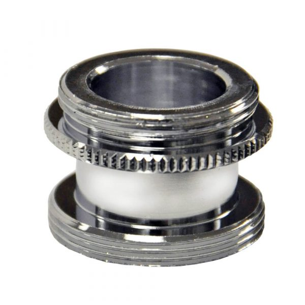 15/16 in.-27M x 55/64 in.-27M Chrome Male Aerator Adapter for Speakman Faucets