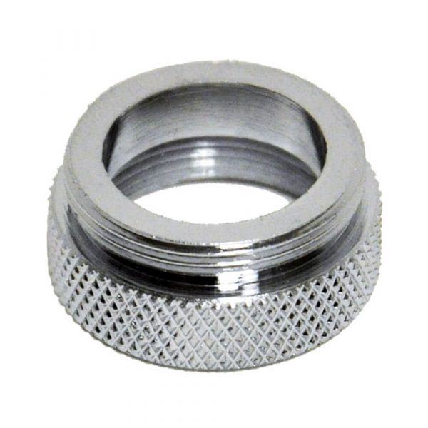 3/4 in.-27F x 55/64 in.-27M Chrome Male/Female Aerator Adapter for Kohler and Price-Pfister Faucets