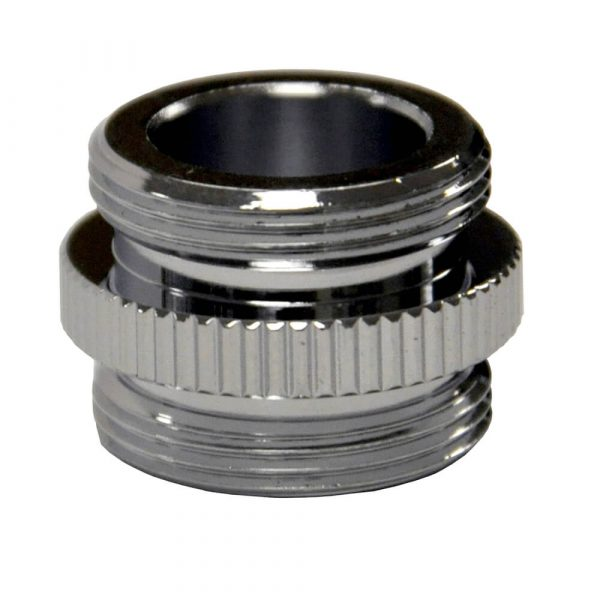 3/4 in.-27M x 3/4 in.-27M Water Filter Aerator Adapter