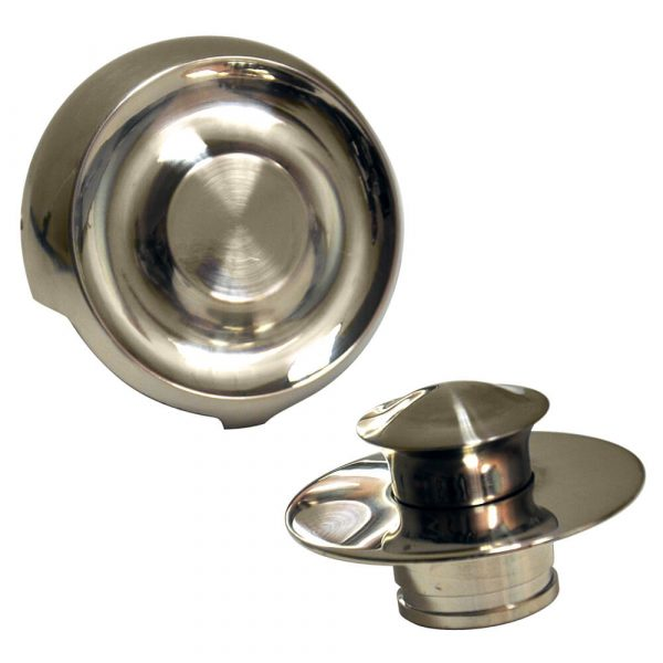 Universal Tub Drain Trim Kit in Brushed Nickel