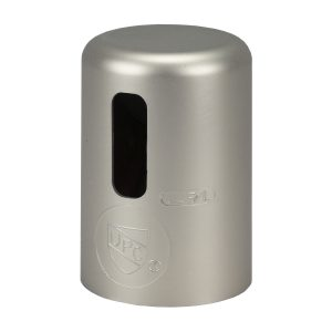 Kitchen Air Gap Cap in Brushed Nickel