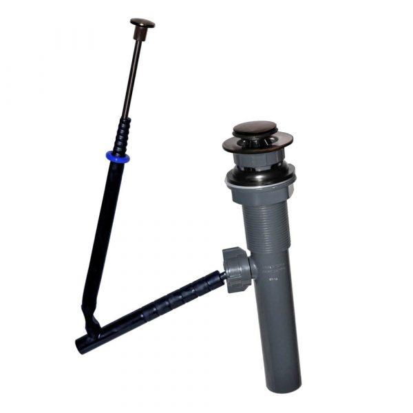 EZ Connect Pop-up Plastic Lavatory Drain in Oil Rubbed Bronze