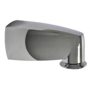 6 in. Pull Down Diverter Tub Spout in Chrome