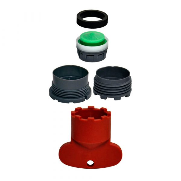 1.5 GPM Cache Aerator Kit for Delta and Moen Faucets