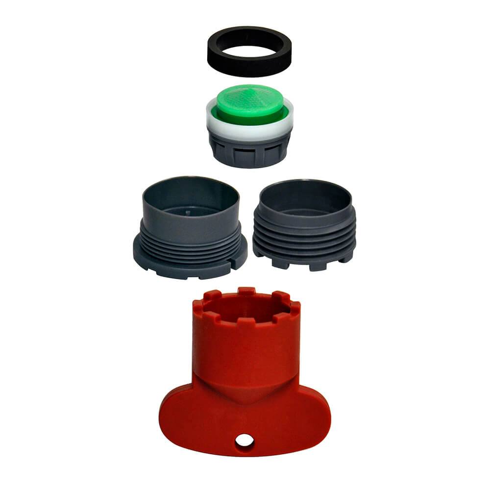 1 5 Gpm Cache Aerator Kit For Delta And Moen Faucets Danco