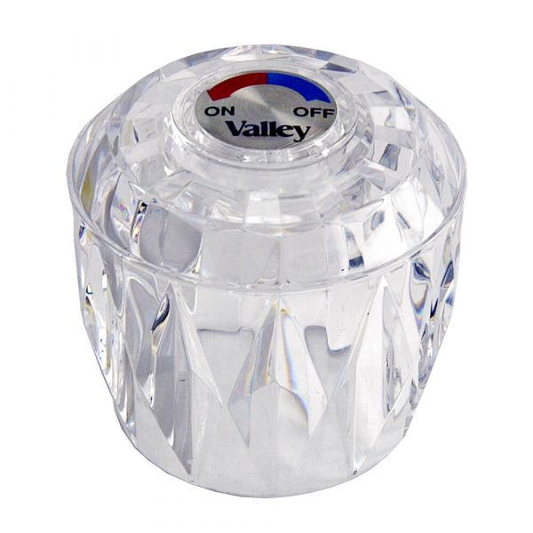 Diverter Handle for Valley in Clear Acrylic