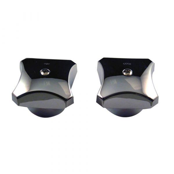 Faucet Handles for Kohler Tub/Shower in Chrome