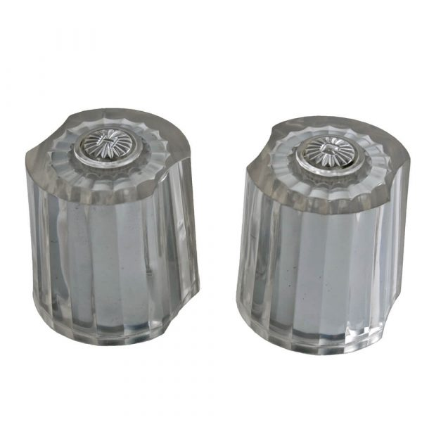 Faucet Handles for American Standard in Clear Acrylic