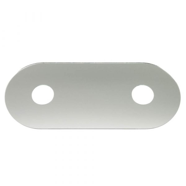 Two Handle Remodeling Cover in Chrome