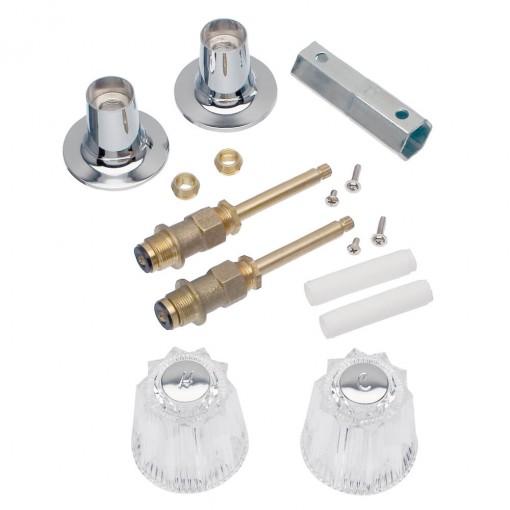tub and shower parts rebuild kits tub shower 2 handle remodeling trim