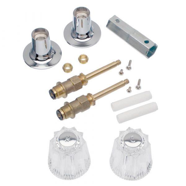 Tub/Shower 2-Handle Remodeling Trim Kit for Price Pfister Windsor