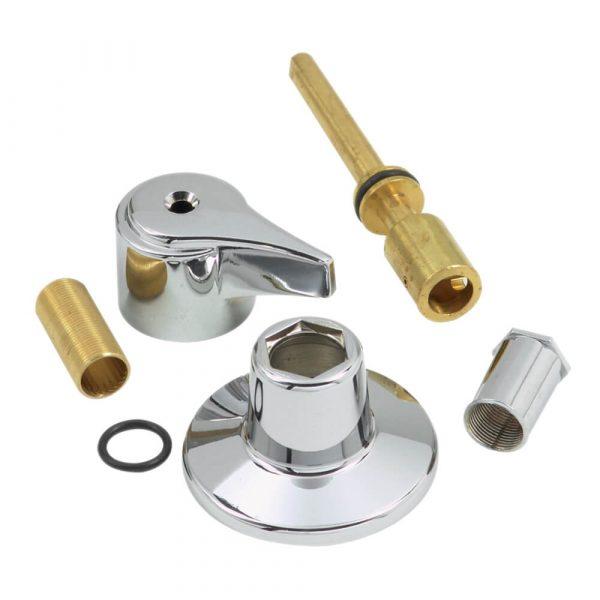 Tub/Shower Diverter Remodeling Trim Kit for Union Brass in Chrome