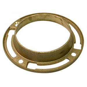 12 oz. Brass Toilet Floor Flange