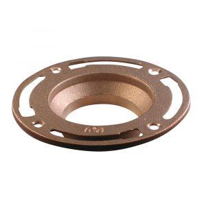 24 oz. Brass Toilet Floor Flange