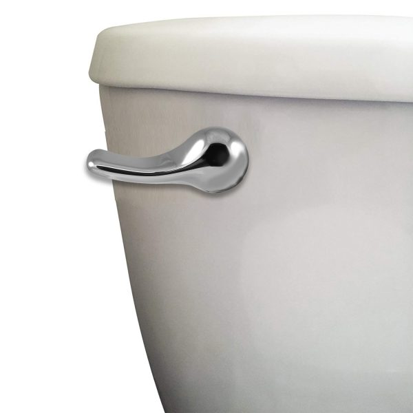 8 in. Universal Toilet Handle in Chrome