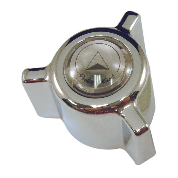 Direct-Fit Cross Canopy Diverter Handle in Chrome