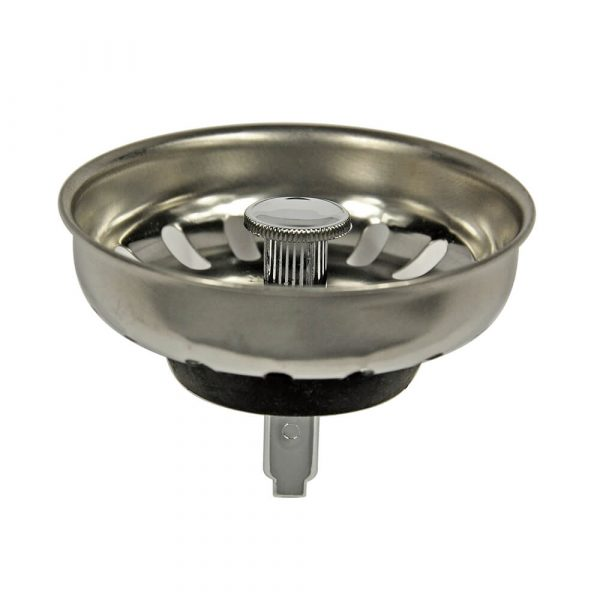 3-1/4 in. Basket Strainer with Pin in Chrome (Case of 25)