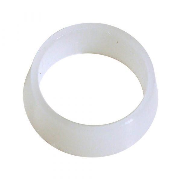 3/8 in. O.D. White Plastic Sleeve (1 per Bag)