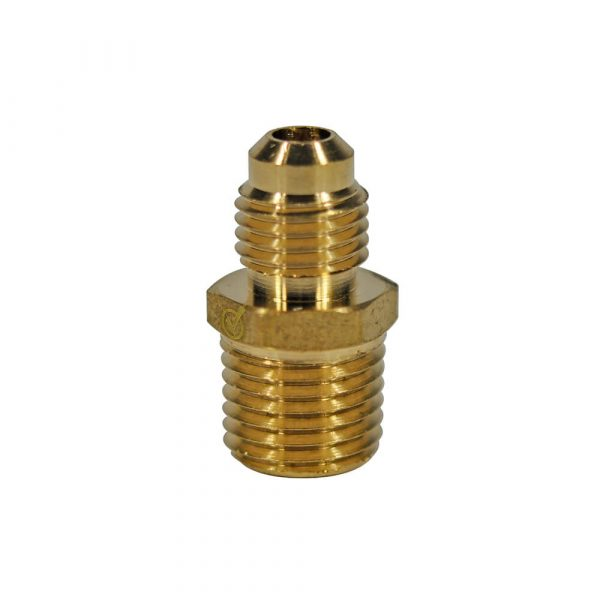 1/4 O.D. Flare X 1/4 MIP Pipe Adapter