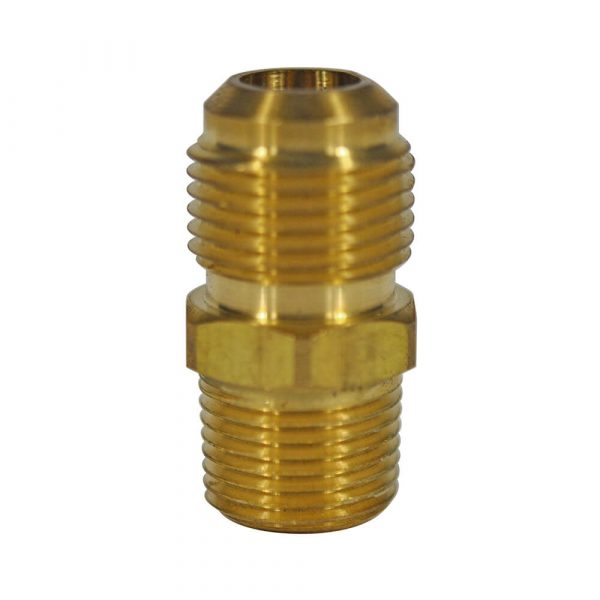 1/2 O.D. Flare X 3/8 MIP Pipe Adapter