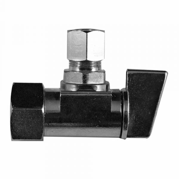 3/8 in. Comp. Outlet x 1/2 in. FIP Inlet Angle Stop