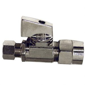 1/2 CPVC Outlet x 3/8 in. Comp. Inlet Straight Stop