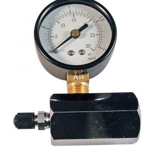 "0 - 30 psi 2"" Increment Compressed Air Test Gauge"