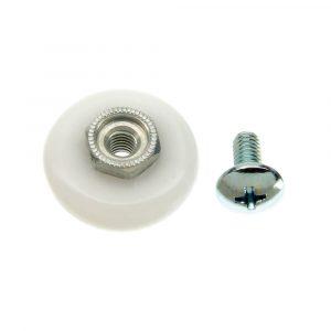 7/8 in. Oval Shower Door Roller (1 Per Bag)