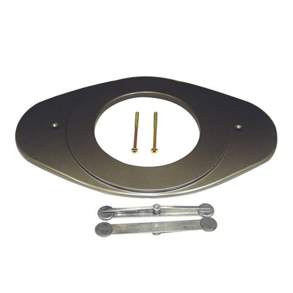 Single Lever Remodeling Cover in Brushed Nickel