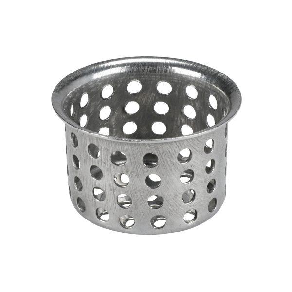 1-1/16 in. Sink Basket Strainer in Chrome