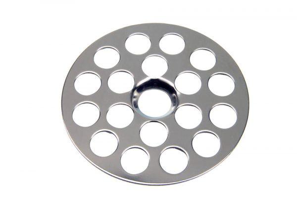 1-5/8 in. OD Flat Sink Strainer in Chrome