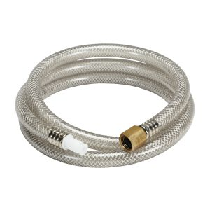 48 in. Universal Clear Side Spray Hose