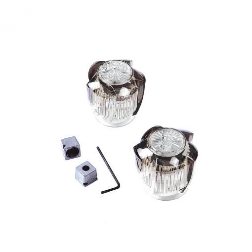 small universal faucet handles in smoke danco. Black Bedroom Furniture Sets. Home Design Ideas
