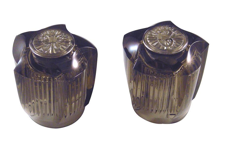 large universal faucet handles in smoke danco. Black Bedroom Furniture Sets. Home Design Ideas
