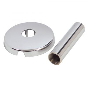 3/4 in. Tub/Shower Flange Set for American Standard Colony in Chrome
