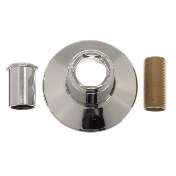 Tub/Shower Flange Set for Union Brass in Chrome