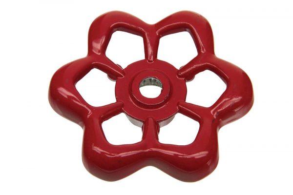 12 Pt. Round Broach Outdoor Faucet Wheel Handle