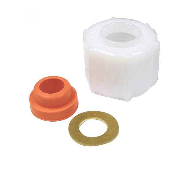 """Ballcock Supply Nut And Washer 7/8 """" Id. X 1-1/8 """" Od."""