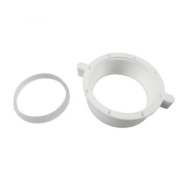 1-1/2 in. Slip Joint Nut & Washer in White