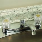 Faucet Handles for Delta/Delex in Clear Acrylic