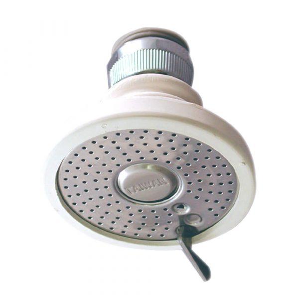 2.2 GPM Screw-On Rubber Aerator Spray in White