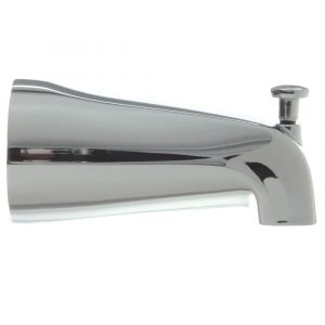 1/2 in. Slip Connection Adjustable Tub Spout with Diverter in Chrome